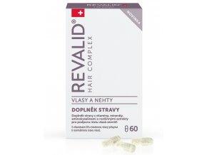 REVALID Hair Complex 60 kapslí - vitamíny pro podporu růstu vlasů