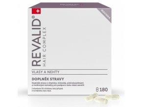 REVALID Hair Complex 180 kapslí - vitamíny pro podporu růstu vlasů