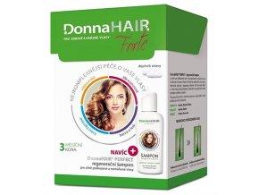 DONNA HAIR Forte 3měs.kúra tob90 + regenerační šampon 100ml