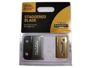 GAMMA PIÚ Staggered Blade - náhradní střihací hlavice pro Gamma+ Alfa Clipper - jemná
