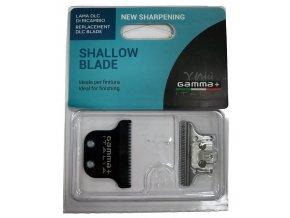 GAMMA PIÚ Shallow Blade - náhradní střihací hlavice pro Gamma+ Hitter Trimmer - jemná