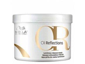 WELLA Professionals Oil Reflections Luminous Reboost Mask 500ml - kúra pro zářivé vlasy