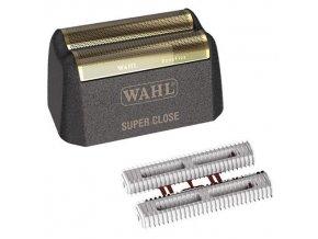 WAHL 98541-3203 Gold Foil Cutter Bar Assembly - náhradní dvojitá planžeta a dva nože pro Wahl Finale
