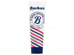 BARBUS Classic Pěnivý krém na holení s glycerinem v tubě 75g