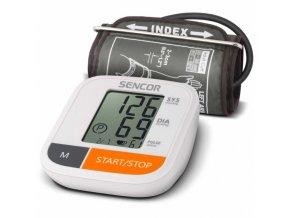 SENCOR SBP 6800WH Digitální tlakoměr na paži s LCD displayem