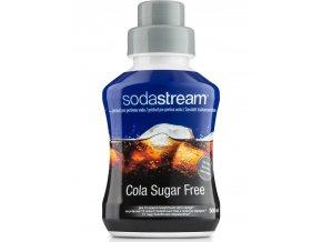 SODASTREAM Sirup Příchuť Cola Sugar Free 500ml - pro 12l perlivé limonády