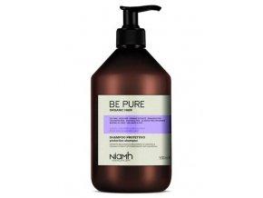 NIAMH Be Pure Protective Shampoo 500ml - šampon po barvení a odbarvování