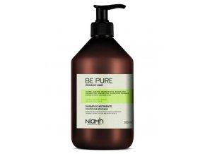 NIAMH Be Pure Nourishing Shampoo 500ml - výživný šampon pro jemné, slabé a vysušené vlasy