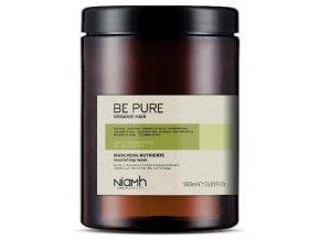 NIAMH Be Pure Nourishing Mask 1000ml - maska pro jemné, slabé a vysušené vlasy