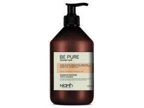 NIAMH Be Pure Restore Shampoo 500ml - obnovující šampon pro poškozené lámavé vlasy