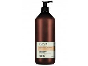 NIAMH Be Pure Restore Shampoo 1000ml - obnovující šampon pro poškozené lámavé vlasy