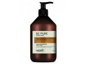 NIAMH Be Pure Restore Mask 500ml - obnovující maska pro poškozené lámavé vlasy