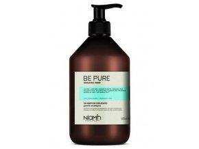 NIAMH Be Pure Gentle Shampoo 500ml - čistící šampon pro časté mytí vlasů