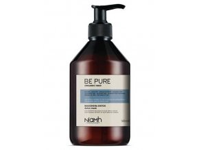 NIAMH Be Pure Detox Mask 500ml - detoxikační maska na mastné a zplihlé vlasy
