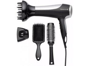 REMINGTON D5017 DRYER GIFT SET Pro 2100 - fén s defuzérem + 2x kartáč na vlasy