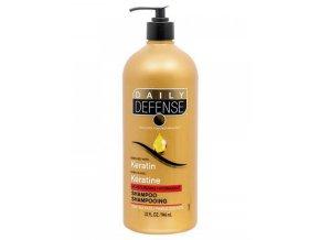 DAILY DEFENSE Keratin Shampoo 946ml - regenerační šampon na vlasy s keratinem