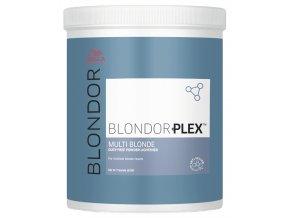 WELLA Professionals Blondor Plex 800g - melírovací prášek pro dokonalé zesvětlení vlasů