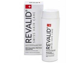 REVALID Dry Hair Revitalizing Protein Shampoo 250ml - proteinový regenerační šampon