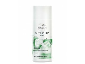 WELLA Nutricurls Curls Shampoo Medium 50ml - micelární šampon pro kudrnaté vlasy