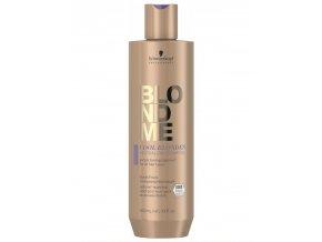 SCHWARZKOPF Blondme Cool Blondes Neutralizing Shampoo 300ml - šampon pro studené blond odstíny