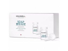 GOLDWELL Dualsenses Scalp Specialist Anti-Hairloss Serum 8x6ml - proti padání a řídnutí vlasů