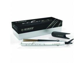 KIEPE Professional SILVER Nano Titanium - profesionální žehlička na vlasy - stříbrná