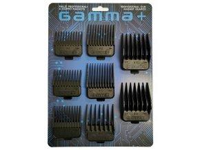 GAMMA PIÚ Náhradní sada magnetických hřebenů pro střihací strojky GAMMA+ 8ks