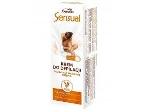 JOANNA Sensual DELICATE Oat Milk Cream - Depilační krém pro jamná a citlivá místa 100g