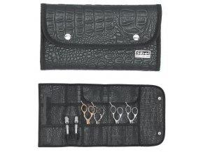 SIBEL 0151008 Multi Toll Roll - kadeřnické pouzdro na nůžky a nástroje - černé