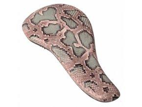 SIBEL Snake Dtangler Rozčesávací kartáč na vlasy s rukojetí - vzor hadí kůže