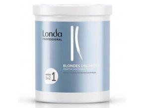 LONDA Professional Blondes Unlimited Powder 400g - foil-free melír pro kreativní techniky