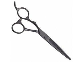 OLIVIA GARDEN SilkCut PRO Shear Matt Black LEFT - kadeřnické nůžky pro leváky - 5,75'