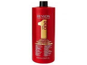 REVLON Uniq One All In One Hair And Scalp Conditioning Shampoo 1000ml - regenerační šampon