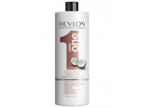 REVLON Uniq One Coconut All In One Shampoo 1000ml - vyživující šampon s vůní kokosu