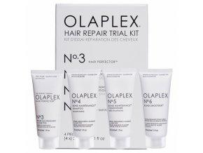 OLAPLEX Trial Kit Hair Repair 4x30ml - testovací sada pro obnovu poškozených vlasů