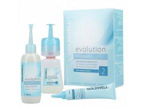 GOLDWELL Evolution SET Typ 2 - šetrná trvalá pro barvené a melírované vlasy