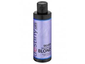 DESTIVII Hair Care Silver Shampoo 200ml - Šampon pro blond vlasy, neutralizuje žlutý odstín