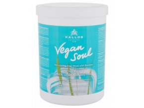 KALLOS Vegan Soul Volumizing Hair Mask 1000ml - maska pro větší objem vlasů