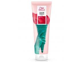 WELLA Professional RED Color Fresh Mask 150ml - barvící a pečující maska na vlasy