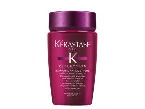 KÉRASTASE Reflection Bain Chromatique Riche 75ml - šampon na melírované a zesvětlené vlasy