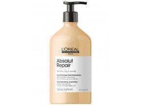 LOREAL Serie Expert Absolut Repair Gold Quinoa Shampoo 750ml - pro velmi poškozené vlasy