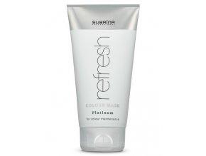 SUBRÍNA Refresh Colour Mask Platinum 150ml - vyživující barvicí maska na vlasy - platinová