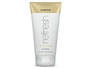 SUBRÍNA Refresh Colour Mask Vanilla 150ml - vyživující barvicí maska na vlasy - vanilková