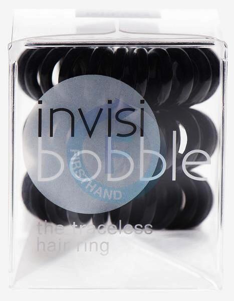 INVISIBOBBLE Original Hair Ring Black 3ks - Spirálová gumička do vlasů - černá