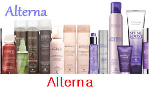 Vlasová kosmetika Alterna