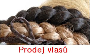 Prodej evropských vlasů