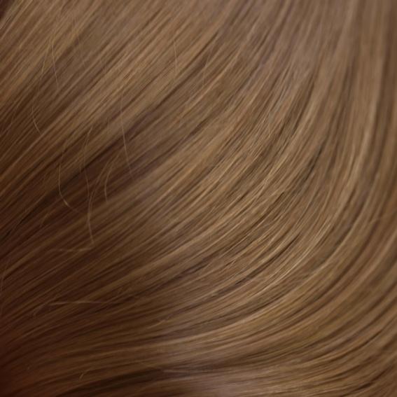 Evropské vlasy hnědé odstíny