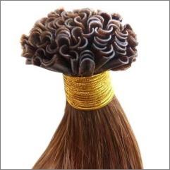 Vlasy na prodlužování keratinem