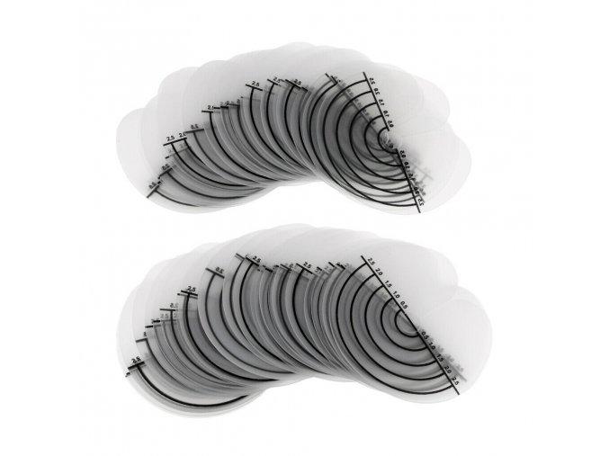 plastova kolecka prodluzovani vlasu