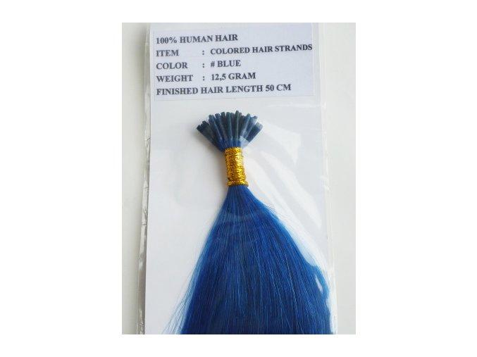 barevné vlasové pramínky na prodlužování vlasů